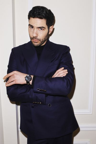 Tahar Rahim in Louis Vuitton