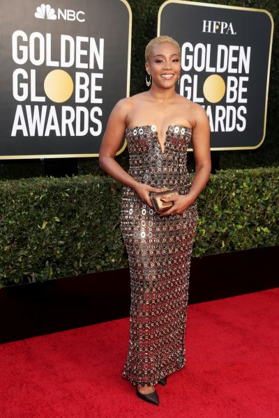 Tiffany Haddish in Alberta Ferretti