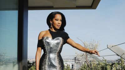 Regina King in Louis Vuitton