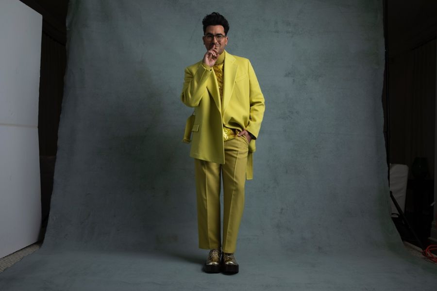 Dan Levy in Valentino