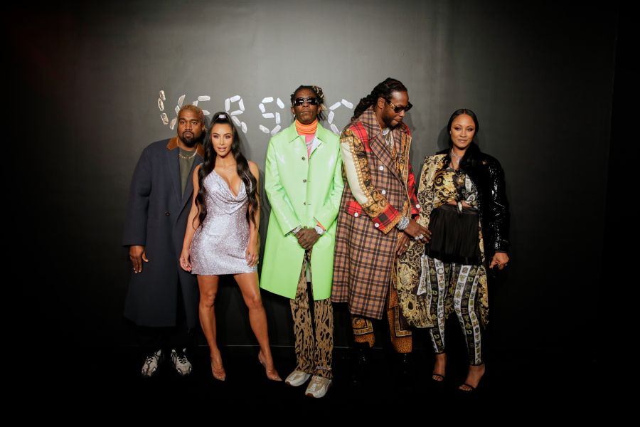 Kanye West, Kim Kardashian West, Young Thug, 2Chainz