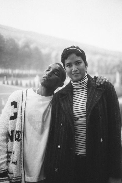 Pharrell Williams e Helen Williams