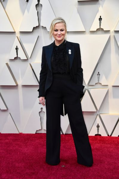 Amy Poehler in Aeffe (Courtesy of Aeffe)