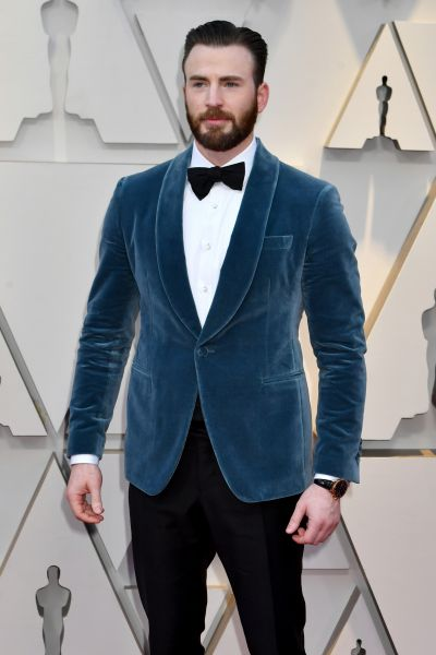 Chris Evans in Ferragamo