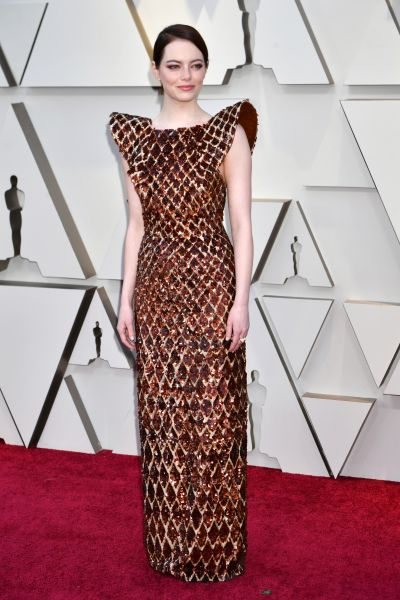 Emma Stone in Louis Vuitton (Courtesy of Louis Vuitton)
