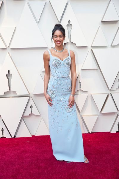 Laura Harrier in Louis Vuitton