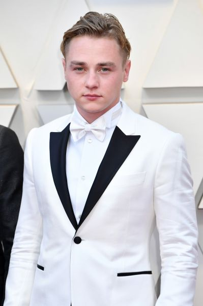 Ben Hardy in Armani (Getty, Courtesy of Armani)