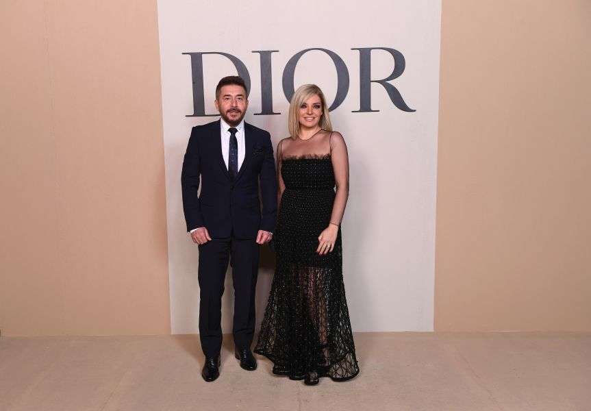 Abed Fahed e Zena Yazigi (Courtesy of Dior)
