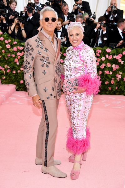 Baz Luhrmann and Catherine Martin in Prada