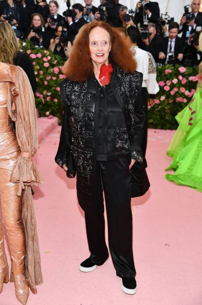 Grace Coddington in Louis Vuitton