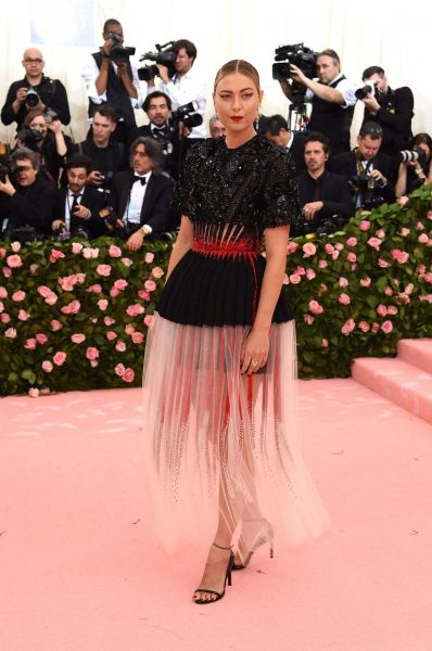 Maria Sharapova in Givenchy Haute Couture
