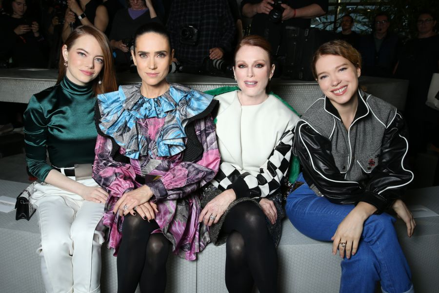 Emma Stone, Jennifer Connelly, Julianne Moore e Lea Seydoux