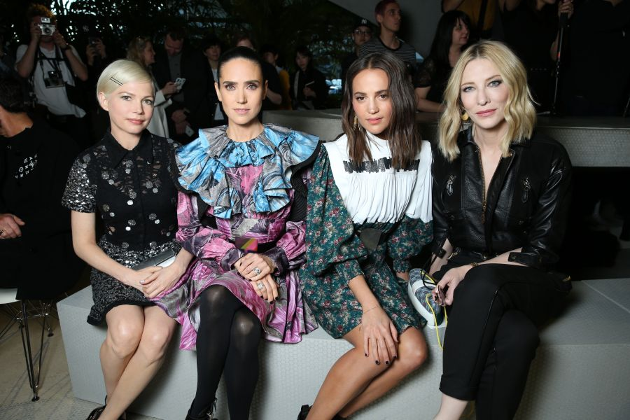 Michelle Williams, Jennifer Connelly, Alicia Vikander e Cate Blanchett