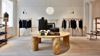 Flagship store Brioni in Bruton Street Londra
