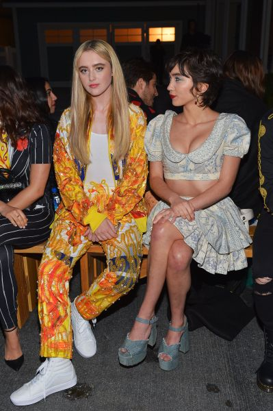 Kathryn Newton and Rowan Blanchard
