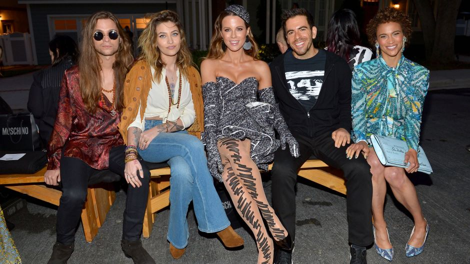 Gabriel Glenn, Paris Jackson, Kate Beckinsale, Eli Roth e Paula Patton