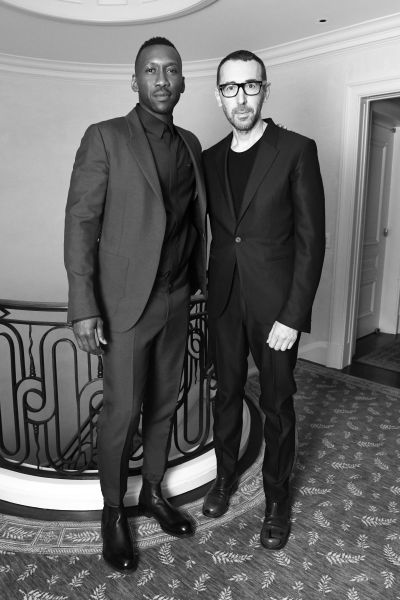 Mahershala Ali and Alessandro Sartori  in New York