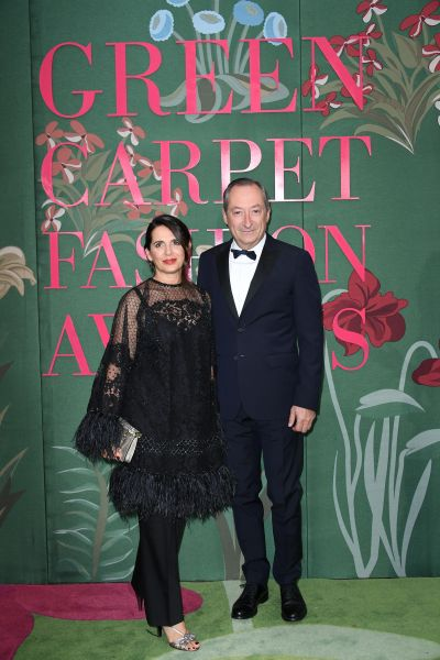 Stefano Sassi and Enrica Sassi in Valentino