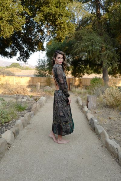 Nikki Reed in Etro