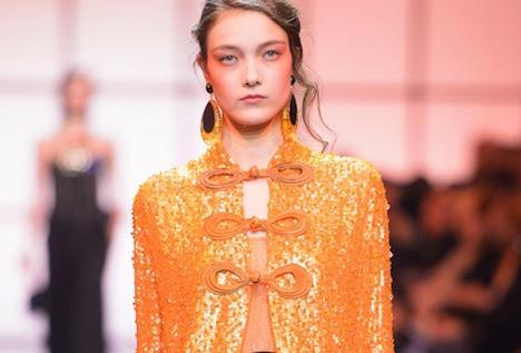 e594a84813 haute couture: Orange is the new Giorgio Armani Privé