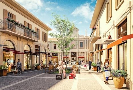 super popular 5fe0d ec3c0 RETAIL REAL ESTATE: Franciacorta Outlet Village: parte la ...