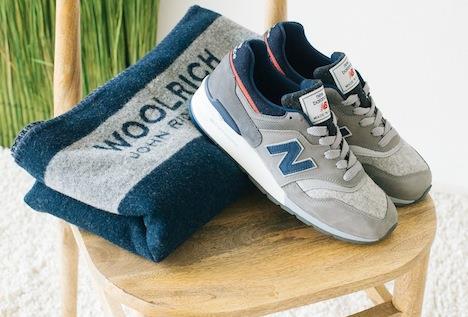 3108e57c6b sinergie: Woolrich: co-branding made in Usa insieme a New Balance