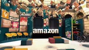 amazon pop-up milano