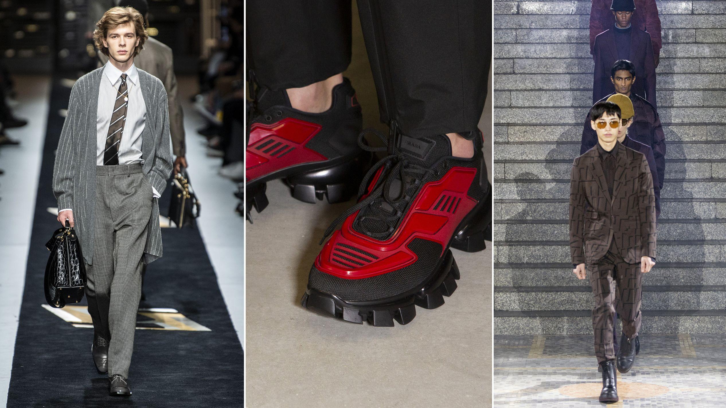 4ef42573fd5b I buyer a Milano Moda Uomo: Fendi da manuale, Prada forte, Zegna colossal:  alla fashion week più tailoring e meno street