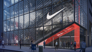 Nike store 5th ave