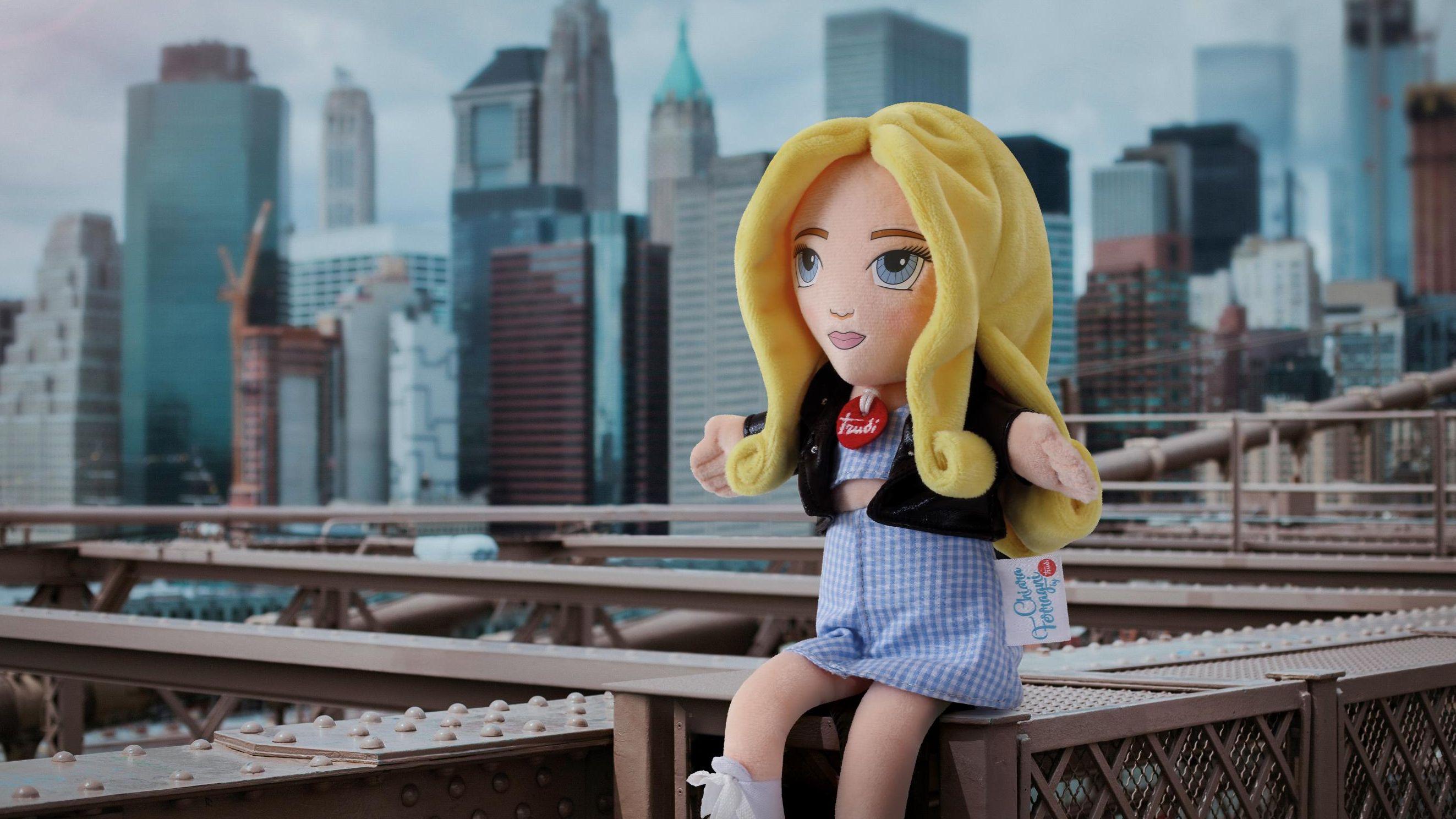 Chiara Ferragni bambola trudi in offerta su amazon