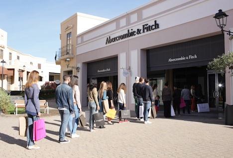 Aperture: Abercrombie&Fitch preferisce il Sicilia Outlet Village a Roma